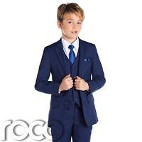 Boys Blue Suit, Slim Fit Suits, Boys Wedding Suit, Blue Suits, Boys Formal Suit