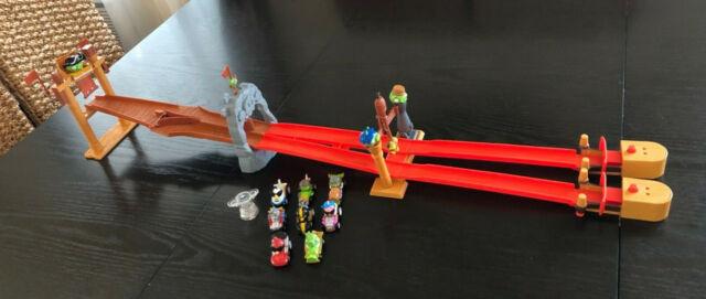 Angry Birds Go Telepods Pig Rock Raceway Set Hasbro A6030