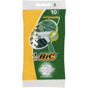 Bic Twin Blade Disposable Razors for Sensitive Skin 10pk