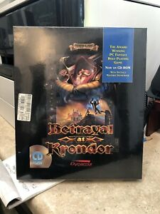 Betrayal-at-Krondor-PC-1993-NOS-Never-Opened-Brand-New-in-Box-Sealed