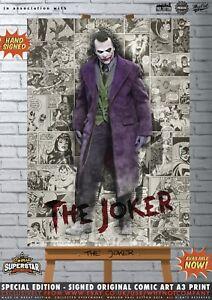 Heath-Ledger-The-Joker-Gotham-Batman-Comic-Superstar-A3-Art-Print-Series