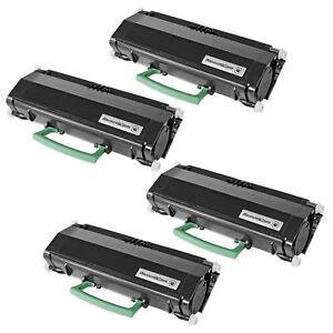 4PK-Toner-Cartridge-for-Lexmark-E260A11A-BLACK-E260d-E260dn-E360d-E360dn-E462dtn