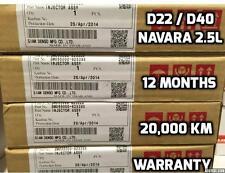 DIESEL FUEL INJECTOR SET NAVARA D22 , D40, PATHFINDER R50  2.5 L YD25 .DENSO NEW