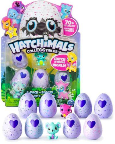 Bonus Figure Season 1 NEW 2x 4-Pack Hatchimals CollEGGtibles Hatching Eggs
