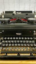 Vintage Royal Typewriter 1930s KHM 1923585 Glass Keys all intact