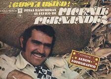 VICENTE FERNANDEZ disco LP  GUSTA USTED JOYAS RANCHERAS made in COSTA RICA 1976