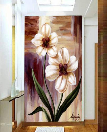 3D Blaumen Ölgemälde 83 83 83 Tapete Wandgemälde Tapete Tapeten Bild Familie DE | Ausgezeichnet (in) Qualität  7a05fc
