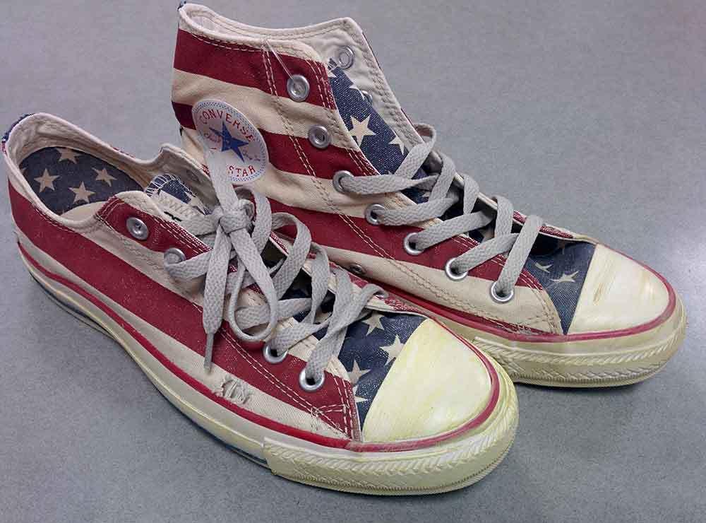 CONVERSE - ALL STAR Bandiera Americana vintage