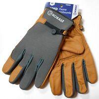 Kobalt X-large Men's Padded Palm Leather Work Gloves Brand Ships Free