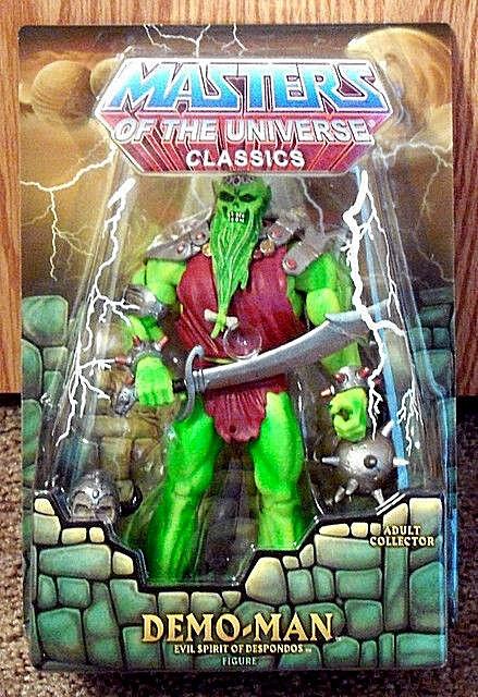 Masters Of The Universe Classics __ Demo-man 6  figura __ Edición Limitada Exclusiva