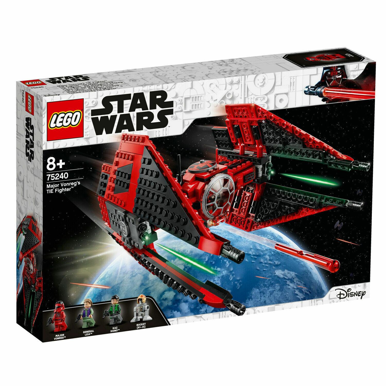LEGO STAR WARS 75240 TIE FIGHTER DEL MAGGIORE VONREG  NUOVO