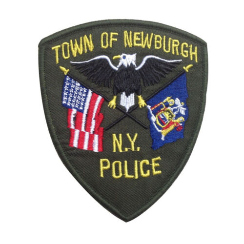 USA TOWN OF NEWBURGH NY POLICE TACTICAL U.S ARMY MORALE EMBROIDERY PATCH