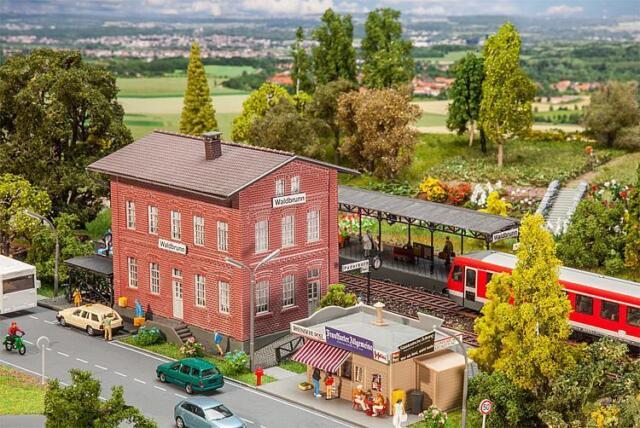 Faller Ho 190295 Set de Estación Waldbrunn # Nuevo en Emb. Orig. #