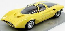 Alfa Romeo 33.2 Special Pininfarina 1969 Yellow Aiq Scale Models 1:18 AIQ001Y Mo