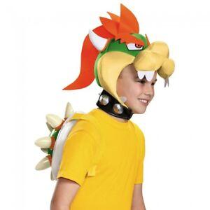 Disguise Super Mario Bowser Kit Villain Peach Child Halloween ...