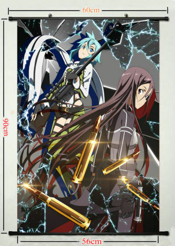 Sword Art Online 2 Japanese Anime Wall Scroll Poster 24x36 inch 004