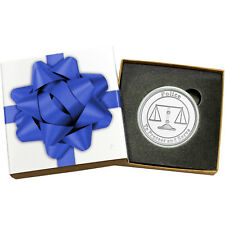 Police 1oz .999 Fine Silver Round (Blue Ribbon Box)