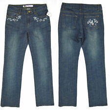 NWT DISNEY Store ALICE IN WONDERLAND Straight Leg Jeans STRETCH ~ Sz 2