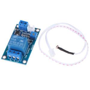 Mini XH-M131 DC 5V Photor/ésistance Commutateur Contr/ôle Capteur de lumi/ère Module de relais Module Contr/ôle de luminosit/é automatique
