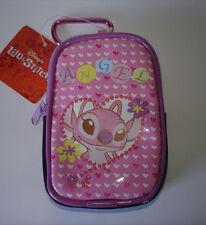 Disney Japan Lilo & Stitch Cousin Angel Cell Phone Camera Zipper Case w/ Clip