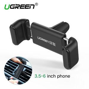 ugreen support t l phone voiture grille d 39 a ration rotation 360 iphone htc lg ebay. Black Bedroom Furniture Sets. Home Design Ideas