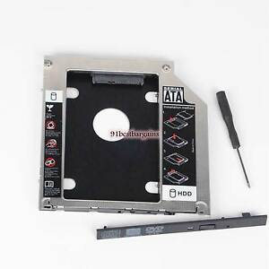 Details about 2nd HDD SSD Hard Drive Caddy Adapter for MacBook Pro Mid 2012  replace UJ-8A8 DVD