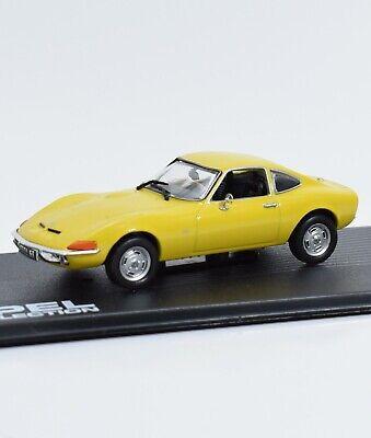 Gelb 1:43 Opel GT 1968//73