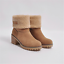 Womens-Winter-Solid-Flat-Buckle-Short-Snow-Boots-Warm-Casual-Fashion-Shoes-Size thumbnail 20