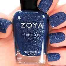 ZOYA PixieDust ZP700 SUNSHINE blue matte sparkle nail polish lacquer~PIXIE DUST