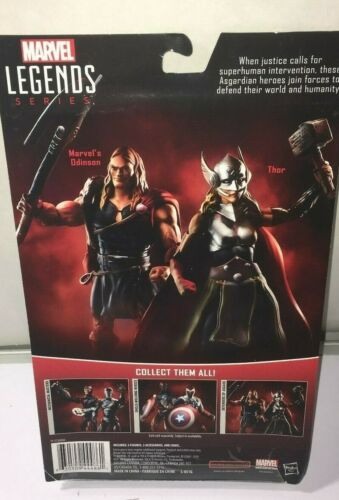 MARVEL LEGENDS THOR /& ODINSON  2 PACK DEFENDERS OF ASGARD  NEW  3.75 figure