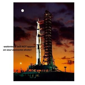 Details about Apollo 11 Launch Pad PHOTO,Neil Armstrong MOON MISSION Saturn  V Rocket