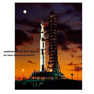 Neil Armstrong MOON MISSION Saturn V Transporter Apollo 11 Launch Pad PHOTO