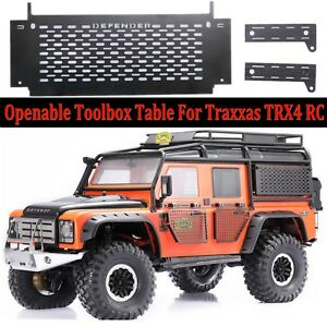 1-10-Openable-Tool-Box-Table-For-TRAXXAS-TRX4-Land-Rover-Defender-D90-D110-RC