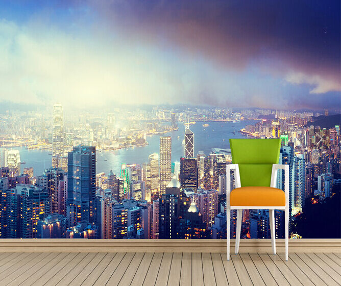 3D City building 1168 Paper Wall Print Decal Wall Wall Murals AJ WALLPAPER GB