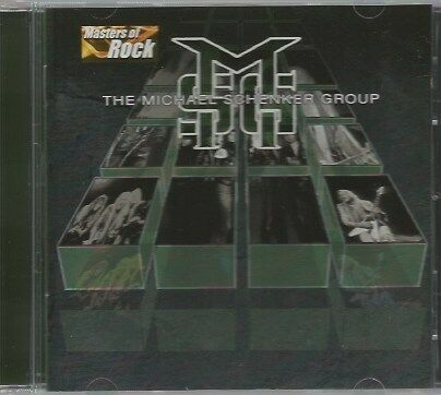 THE MICHAEL SCHENKER GROUP   -   MASTERS OF ROCK.    /    IMPORT.   EU PRESSING.