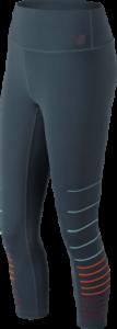 WP83115-PE New Balance Femme Imprimé Taille Haute Transformer Crop Collants
