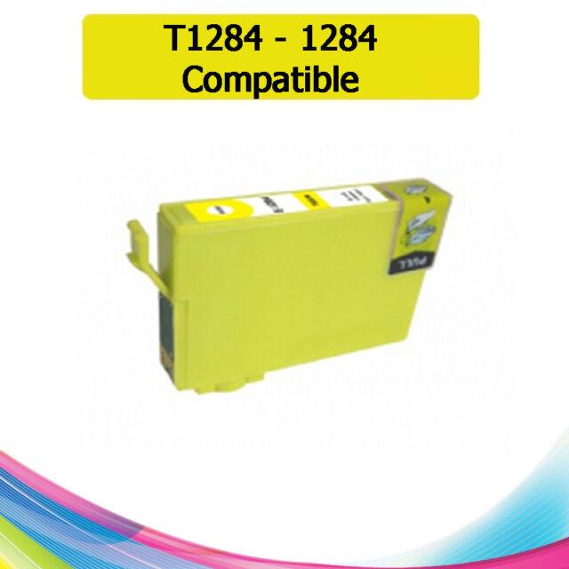 TINTA AMARILLA T1284 1284 COMPATIBLE IMPRESORAS NONOEM EPSON CARTUCHO AMARILLO