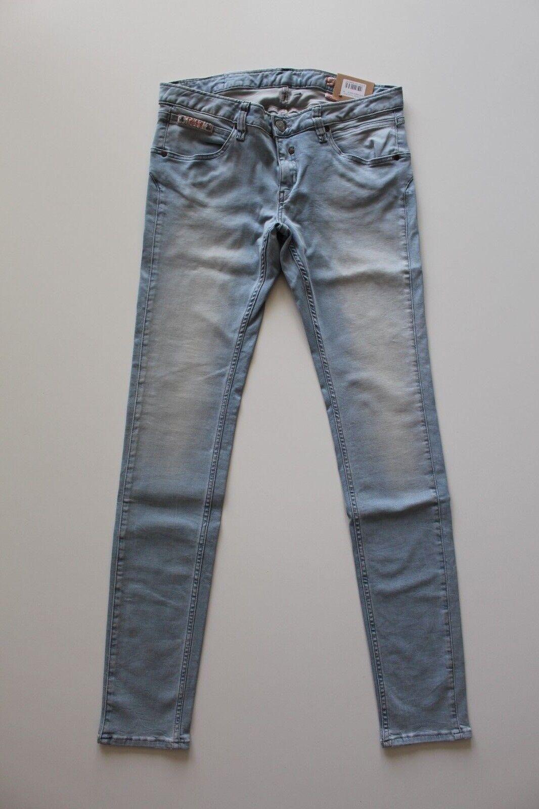 Herrlicher Touch 5705 D9668 Slim Jeans Hellblau W25 30 32 L32