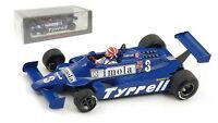 Spark S4319 Tyrrell 010 3 5th Monaco Gp 1981 - Eddie Cheever 1/43 Scale