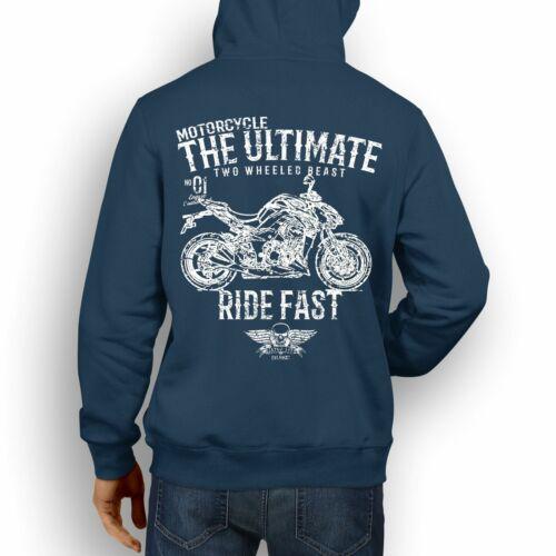 JL Ultimate Illustration For A Kawasaki Z1000 Motorbike Fan Hoodie