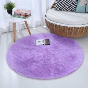 4 Feet Round Area Rugs Ultra Soft