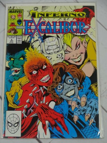 Bagged and Boarded C2421 EXCALIBUR   # 6 1988 COMIC