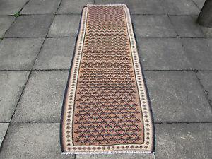 Fine-Old-HANDMADE-Oriental-Tribal-Colourful-Wool-kilim-Runner-228x77cm-7-039-7-034-x2-039-7-034