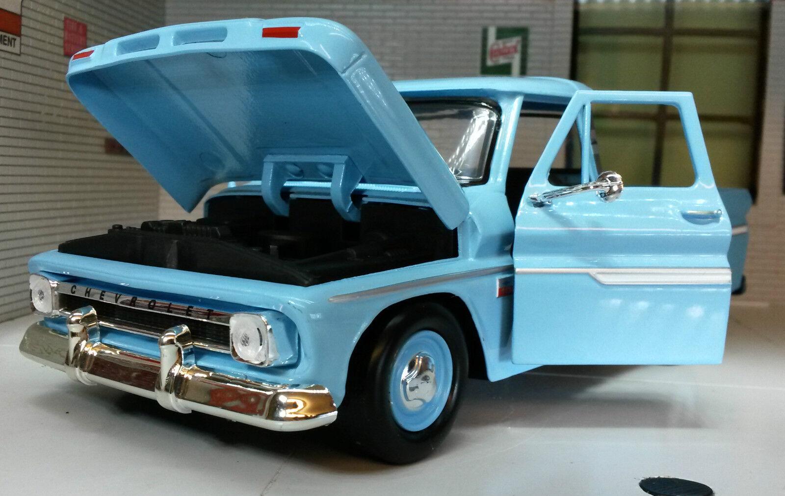 G G G LGB 1 24 Escala 1966 Chevy c-10 Fleetside Wrecker Grúa modelo fundido 75430 e94e2e