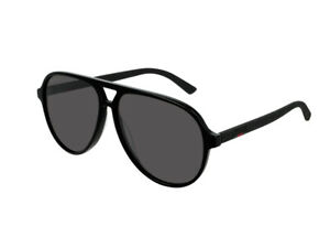 fdbb89da43 La imagen se está cargando gafas-de-sol-GUCCI-Originales-GG0423S-gris-negro-