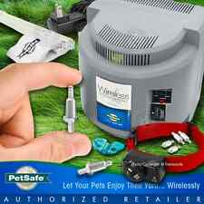 Petsafe PIF-300 Instant Dog Wireless Pet Fence w/ Perimeter Spring-Loaded Prongs
