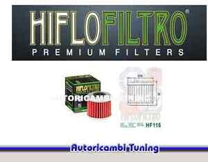 FILTRO OLIO MOTORE HIFLO HF116 PER HONDA CRF 450 X 2010