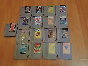 NES-17-Game-Lot-Bundle-All-CLEANED-TESTED-amp-WORKING-Great-Nintendo-Games-Retro