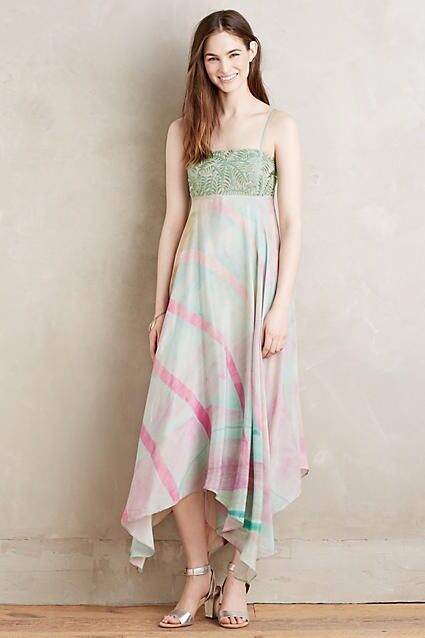 Beaded Sabine Dress By Floreat Größe L Maxi Gown Wedding NWT Retail