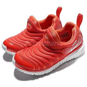 Nike Dynamo Free PS Red Orange Preschool Boy Running Shoes Sneakers 343738-803